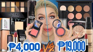 HALA SIS! I COMPARED MAYBELLINE WITH MAC COSMETICS! ALIN ANG MAS SULIT!?