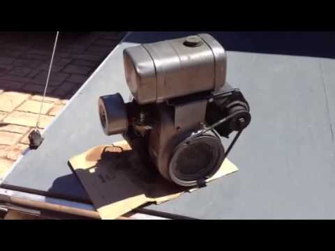 Kohler K160 engine 1960 - YouTube
