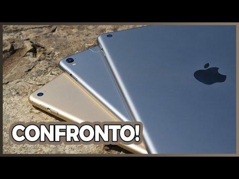 Confronto iPad (2017) vs. iPad Pro 9.7 vs. iPad Air 2