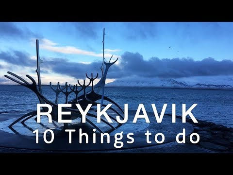 10 Awesome Things To Do in Reykjavik | Travel Better in... ICELAND! 🏙✈😊