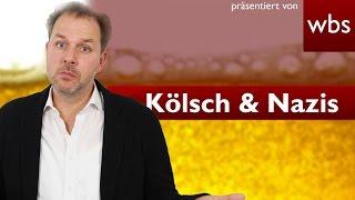 Kein Kölsch für Nazis rechtmäßig? | Rechtsanwalt Christian Solmecke