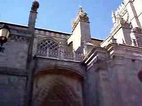 Church Bells Avila, Spain