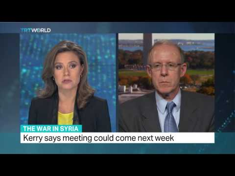 TRT World - Interview with Prof. Ross Harrison on the war in Syria