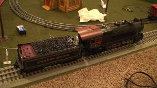 Lionel Legacy Control with the Lindbergh Special Part 1