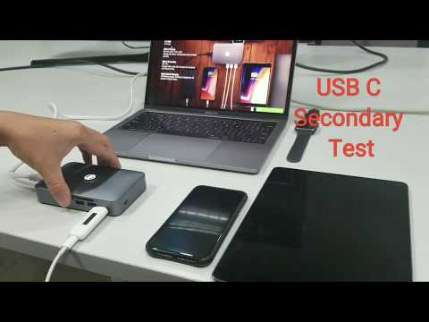 iMate Secondary Type-C PD Fast Charge & USB Ports (X2) Powerful Performance