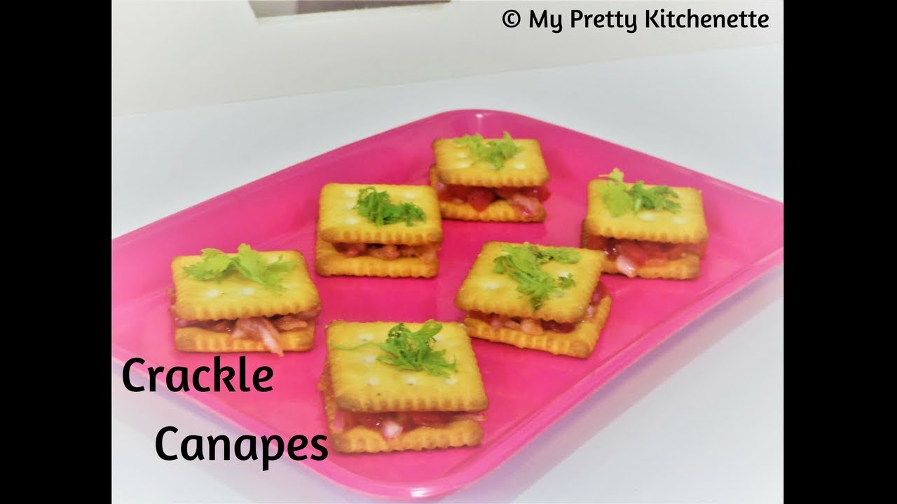 Biscuit canapes for party canapes recipe easy easy for How to make canape