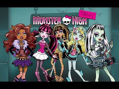 Кто самый крутой на модном показе в Школе монстров Монстер Хай / Monster High?