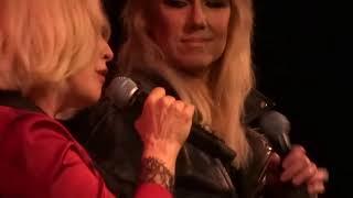 "Debbie Harry Matt Katz-Bohen and Miss Guy  perform ""Charm Alarm"" Cafe Carlyle 05/04/15"