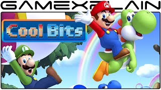 Cool Bits - New Super Mario Bros. U's Trippy Luigi Secret