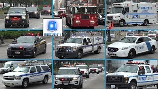 [Manhattan] Collapse on 9/11 - Rare catches of responding emergency services