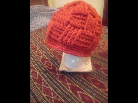Basketweave beanie DIY / czapka na szydełku / crochet beanie /how to make basket weave stitch
