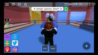 Punch-Out!! Soda Popinski intro parody on roblox