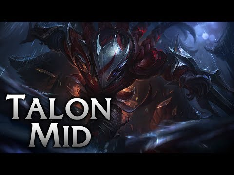 Blood Moon Talon Mid - League of Legends Commentary