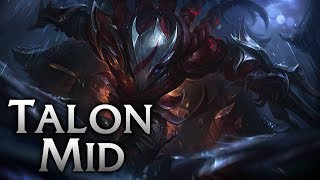 Blood Moon Talon Mid - League of Legends Commentary