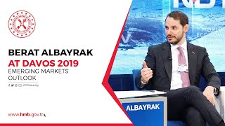 Berat ALBAYRAK at Davos 2019, Emerging Markets Outlook