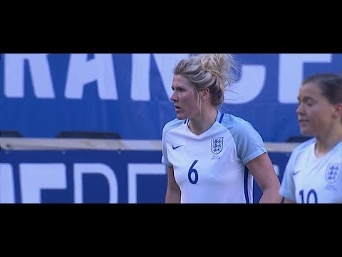 (2) Germany vs England 3.4.2018 / SheBelieves Cup 2018