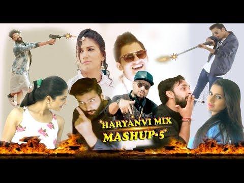 The Haryanvi Mashup - 5 Dj Song 2018 - Lokesh Gurjar - Gurmeet Bhadana - Akki Kalyan NONSTOP