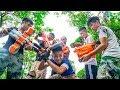 Battle Nerf War: Three Musketeers Nerf Guns Marksman Group PUBG Gun Game
