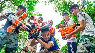 Battle Nerf War: Three Musketeers Nerf Guns Marksman Group PUBG Gun Game