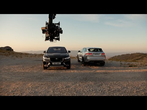 Jaguar F-PACE x Canon | Behind The Scenes