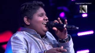 Indian Idol Vaishnav Girish Mesmerises Judges with  Mere Rang Mein