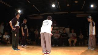 ATZO & P→☆ vs ファンファーレ POP FINAL / WDC 2015 KANTO ELIMINATION DANCE BATTLE 2on2