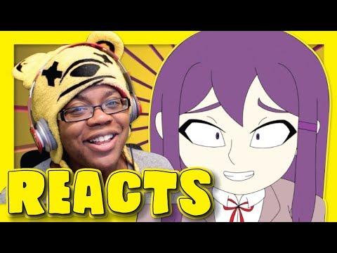 Yuri's Confession by Niddy Griddy   Doki Doki Animation Reaction