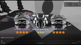 Saber Simulator I HATCHED A VOID SHADOW WITCH ON VIDEO ( OP STATS )