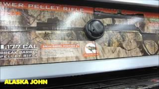 BB & PELLET RIFLE PRICES - Alaska Walmart - November 30th 2015