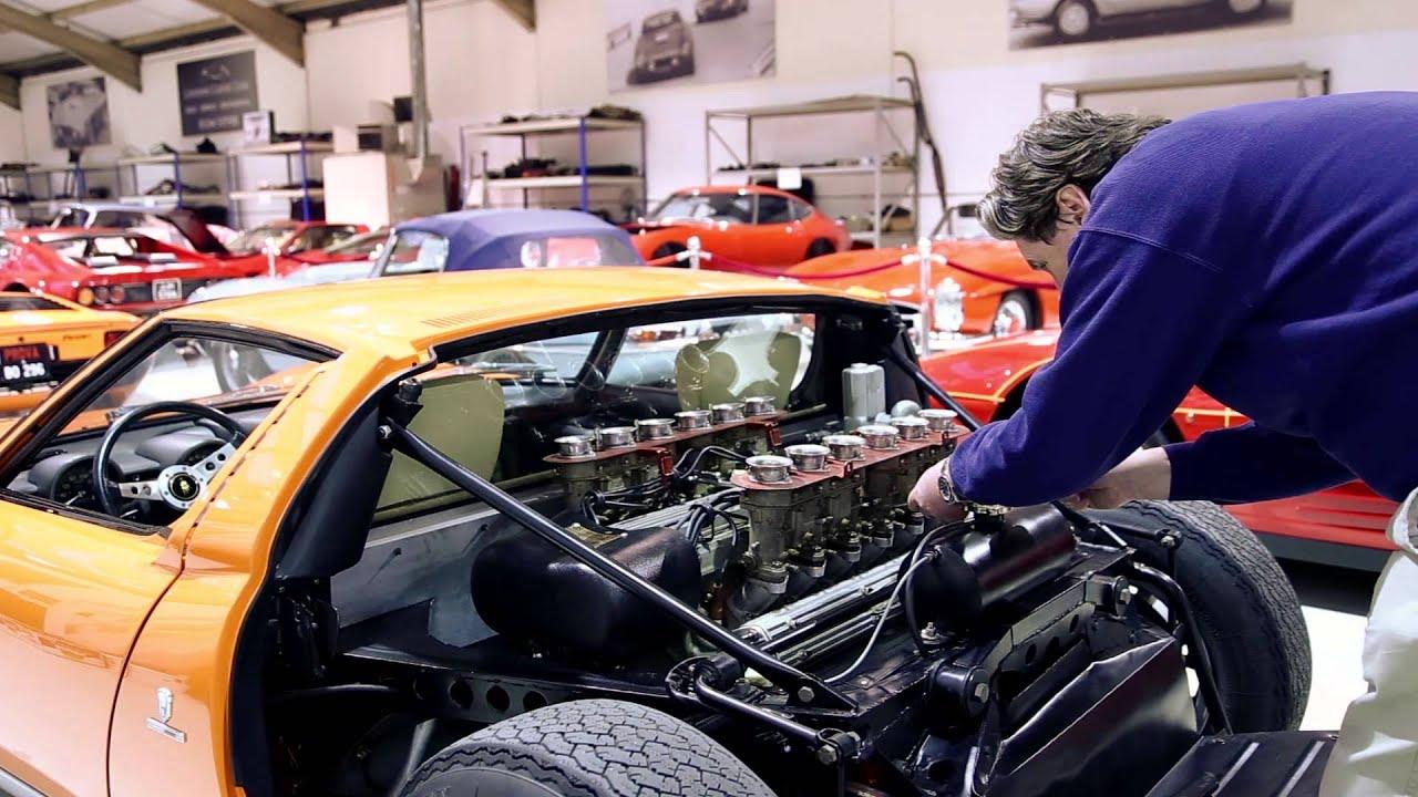 Tuning The Italian Job Miura Iain Tyrrell Youtube