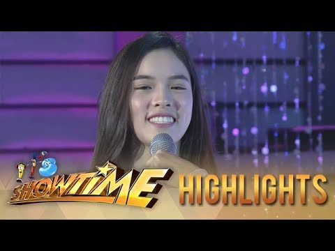 """It's Showtime Miss Q & A: """"Ate Girl"""" Jackque's sweet message to Vice"""