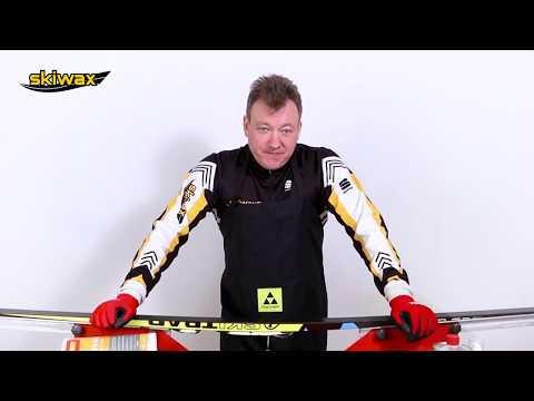 Самый простой способ подготовки лыж