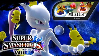Super Smash Bros Wii U - Classic Mode w/Mewtwo & Giveaway