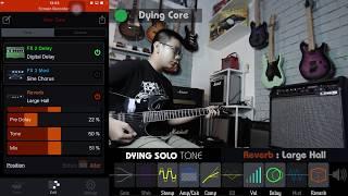 Hướng dẫn sử dụng amp Line 6 SPIDER V 60 - Naruto's Theme Song - Ha Duc Sam cover
