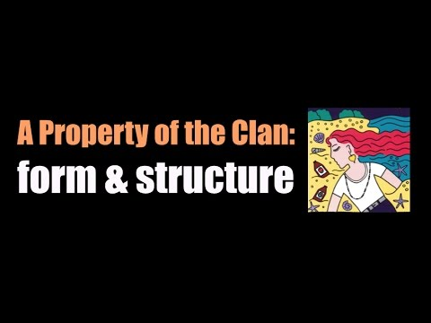 A Property of the Clan - form & structure