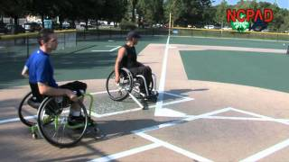 Wheelchair Softball