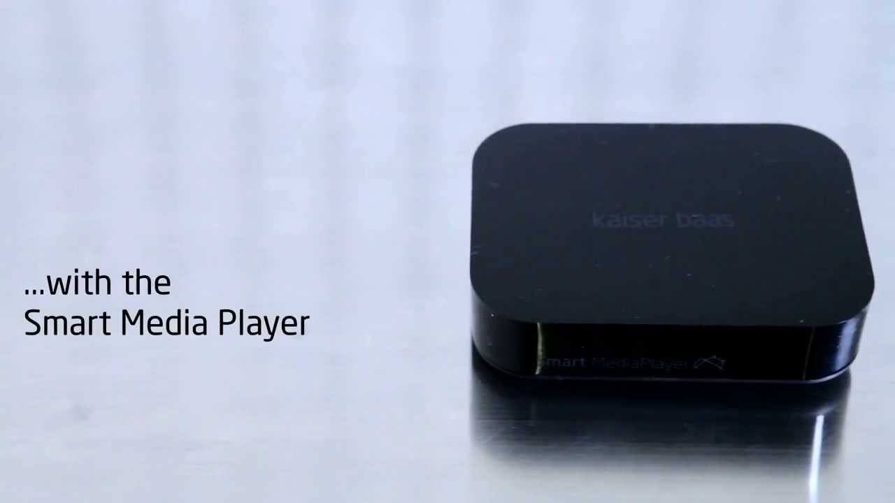 smart media player from kaiser baas make your existing tv
