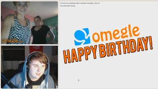 SING ME HAPPY BIRTHDAY! (Omegle)