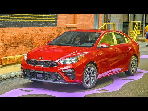 Kia Forte | Currant Red | Exterior, Interior (US Spec)