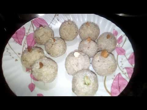 ନଡ଼ିଆ ଲଡୁ | Coconut Ladoo Recipe | How To Make Coconut Ladoo