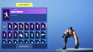 ALL NEW DANCE EMOTES| LEAKED| FORTNITE BATTLE ROYALE| DANCE THERAPY,FANCY FEET AND MORE