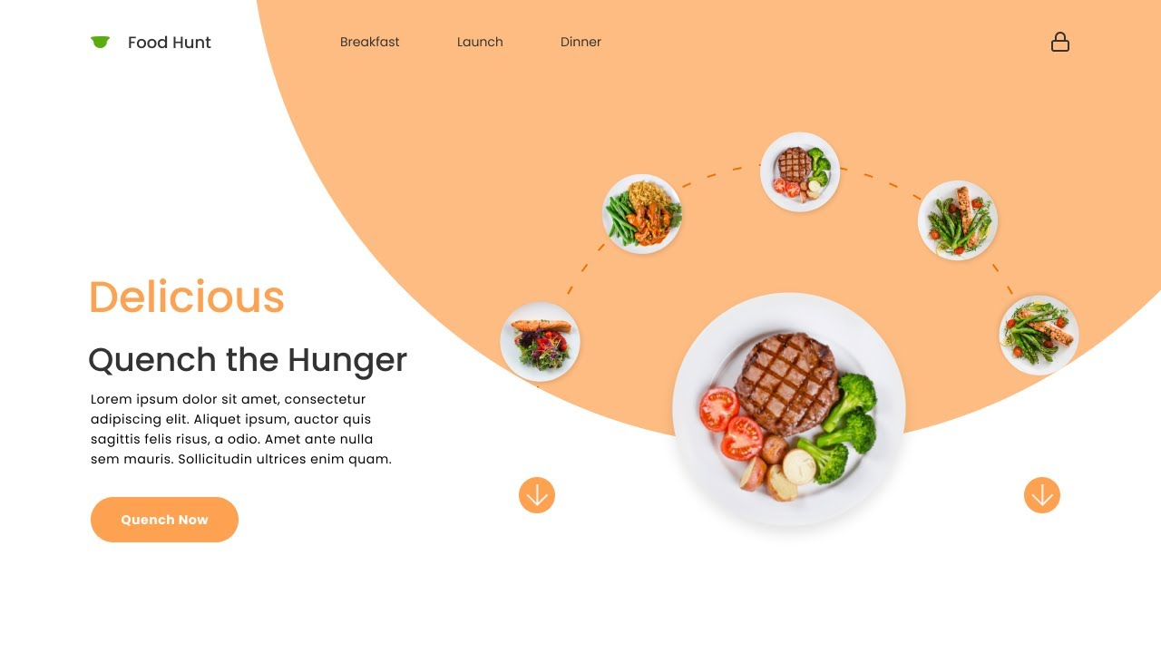 Figma Web Design and Smart Animation