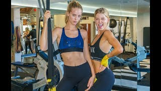 Baskin Champion & Abby Champion - Model Workout: Cardio Booty Workout