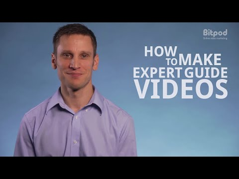 How to make expert guide videos - Video marketing for business #7