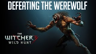 Witcher 3 Wild Hunt: How to Defeat The Werewolf Without Cursed Oil!