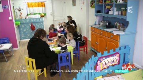 Les maisons des assistantes maternelles - La Maison des Maternelles -  France 10