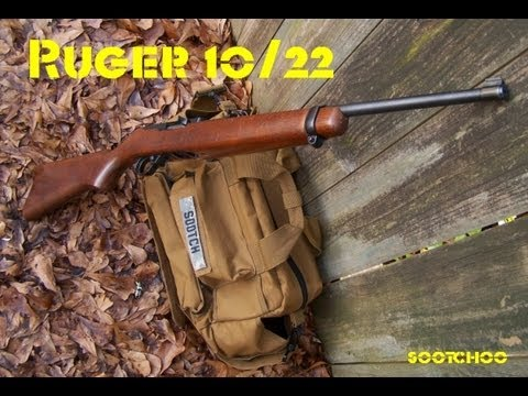 Ruger 10/22 22LR Rifle - YouTube