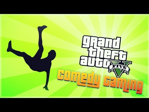 GTA 5 - Vinewood Sign Fun - Jump Stunt - Mugging Renzzi - Comedy Gaming