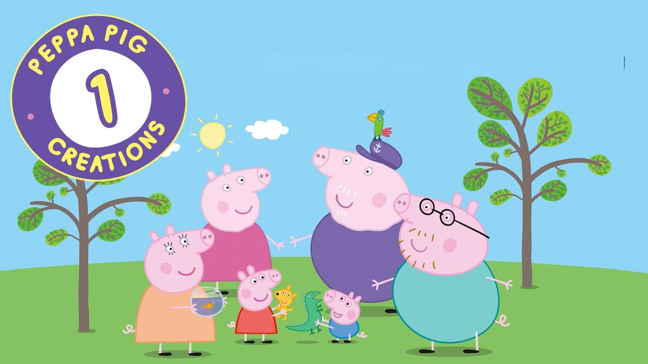 Peppa Pig Creations 01 - Meet Peppa's family and friends!