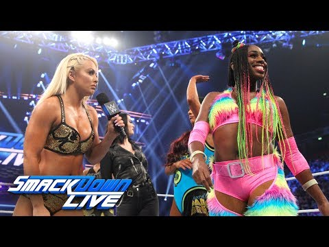 Paige reveals the SmackDown Women's Survivor Series Team: SmackDown LIVE, Nov. 6, 2018